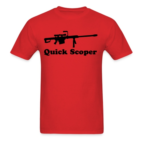 I Love QuickScoping! [RG] - Men's T-Shirt