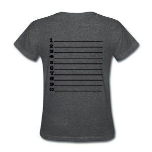 Length Check Numbers - Women's T-Shirt