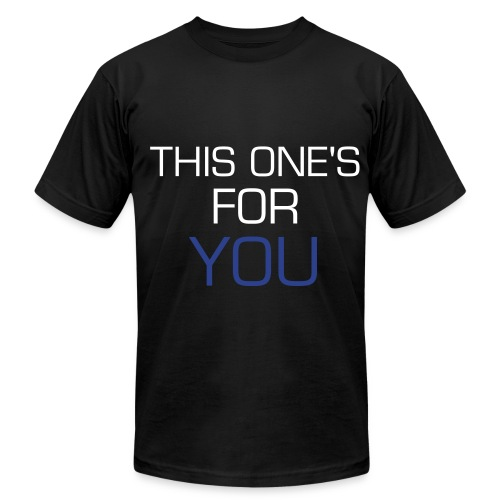 T1FU first shirt - Men's  Jersey T-Shirt