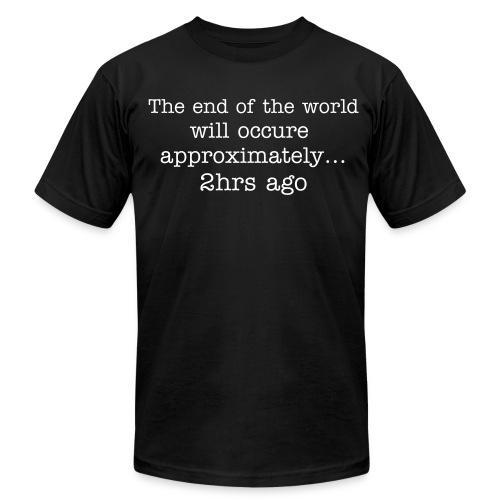 End of the World - Men's Fine Jersey T-Shirt