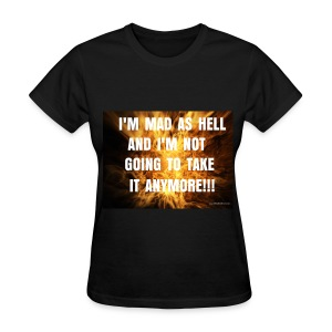 MAD AS HELL Tee Women's - Women's T-Shirt