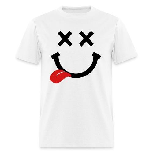 happy drunk face  - Men's T-Shirt