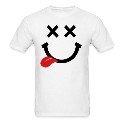 happy drunk face  - Men's T-Shirt