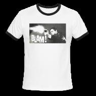 T-Shirts ~ Men's Ringer T-Shirt ~ Aidan 5 Vintage Men's Ringer T-Shirt