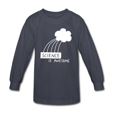 Science is Awesome - steel blue graphic