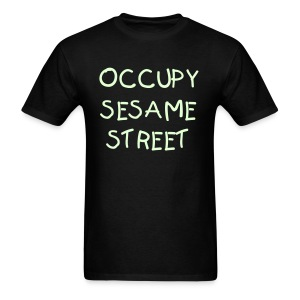 Occupy Glow in dark T-Shirt - Men's T-Shirt