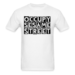 Occupy Block print T-shirt - Men's T-Shirt