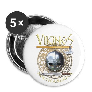 Vikings North America Large Button - Large Buttons