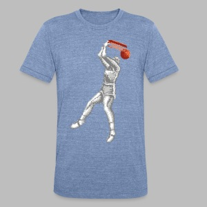 Exciting Basket - Double Dribble - Unisex Tri-Blend T-Shirt by American Apparel