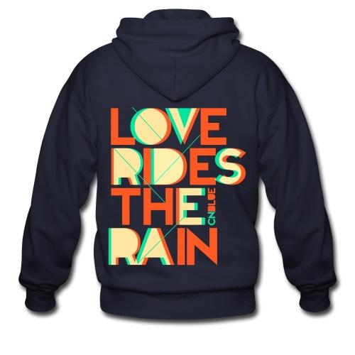 [CNB] Love Rides the Rain - Men's Zip Hoodie