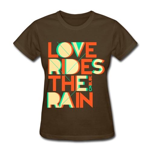 [CNB] Love Rides the Rain - Women's T-Shirt