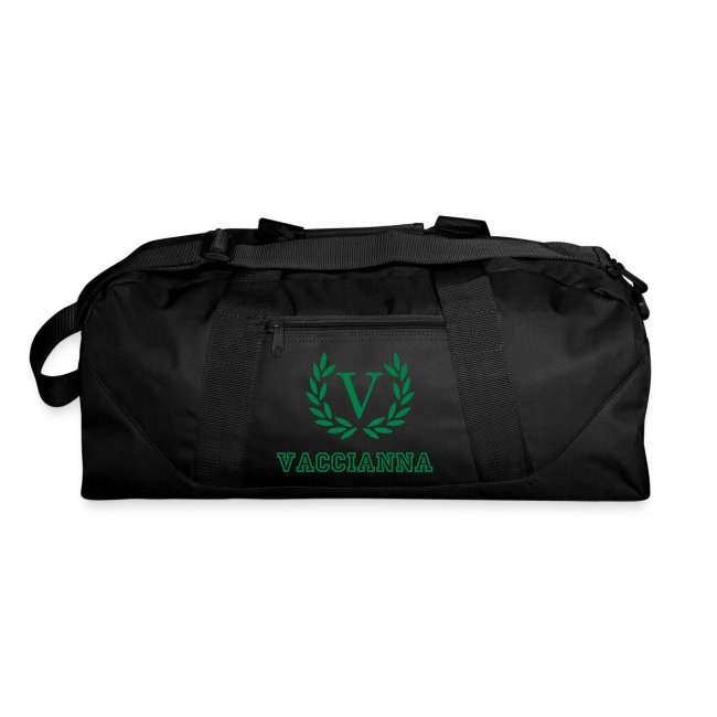 Vaccianna Collection Workout Duffle Bag
