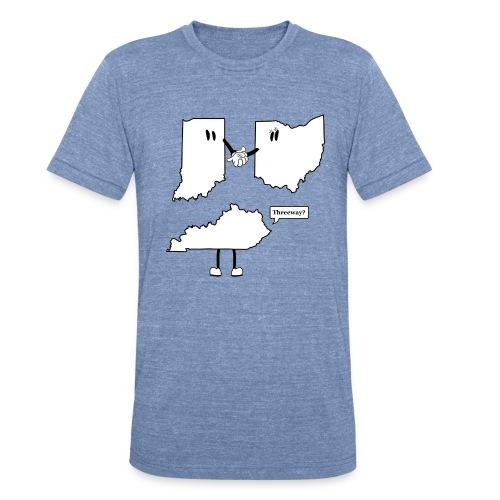 Threeway Shirt - Unisex (Censored:) - Unisex Tri-Blend T-Shirt