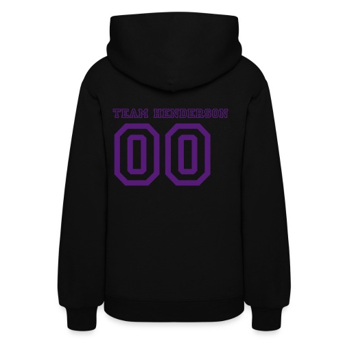 Women's Hooded Sweat Shirt  01!  Customize able Number on Back ** 20.00 DOnation - Women's Hoodie