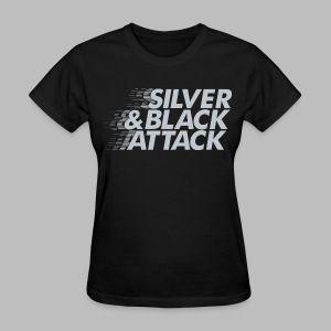 Silver & Black Attack - Women's T-Shirt