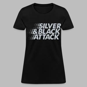 Silver & Black Attack - Women's T-Shirt