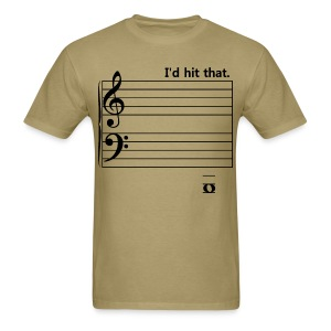 I'd Hit That (bass) - Men's T-Shirt