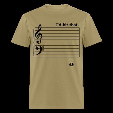 I'd Hit That (bass) T-Shirts