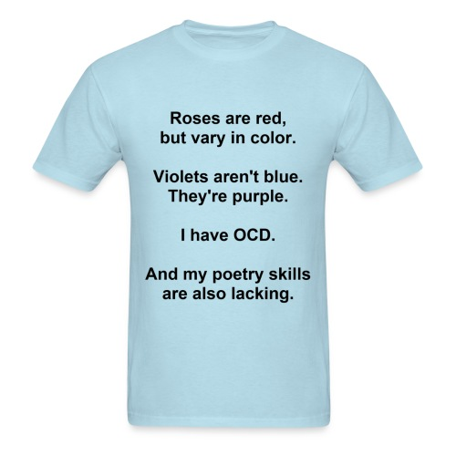 OCD Poetry Men's Standard Weight T-Shirt - Men's T-Shirt