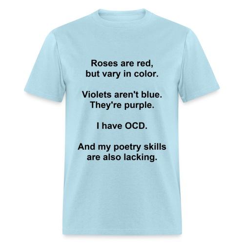 OCD Poetry Men's Standard Weight T-Shirt - Men's T-Shirt