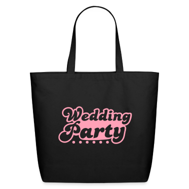 wedding party in pink Bags