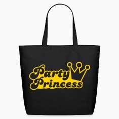 party princess with cute crown  Bags