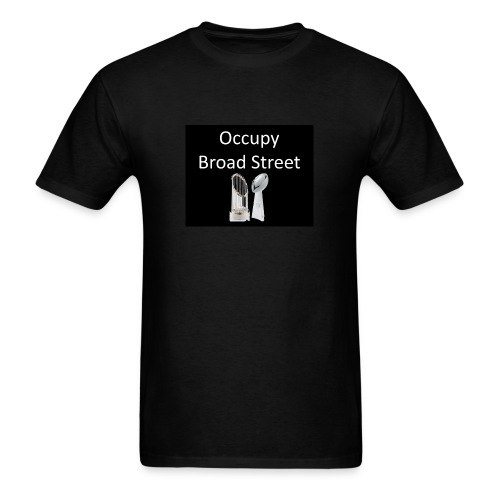 Occupy Broad St...we need a champ - Men's T-Shirt