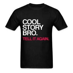General - Cool Story Bro (Red) - Men's T-Shirt