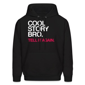 General - Cool Story Bro (Red) - Men's Hoodie