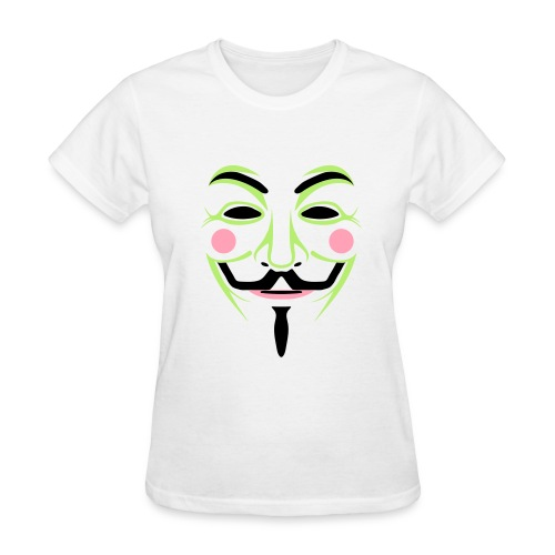 Colorful Guy Fawkes Women's Tee - Women's T-Shirt