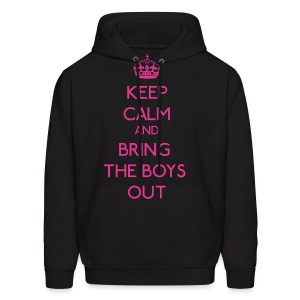 Girls' Generation - Keep Calm and Bring the Boys Out - Men's Hoodie