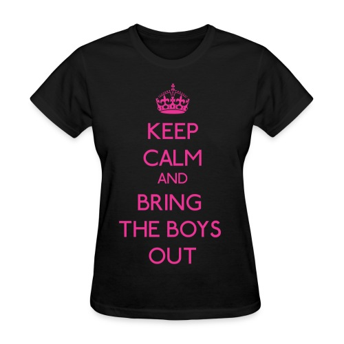 Girls' Generation - Keep Calm and Bring the Boys Out - Women's T-Shirt