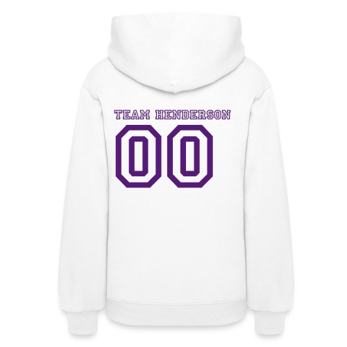 Women's Hooded Sweat Shirt  03!  Customize able Number on Back No Donation - Women's Hoodie
