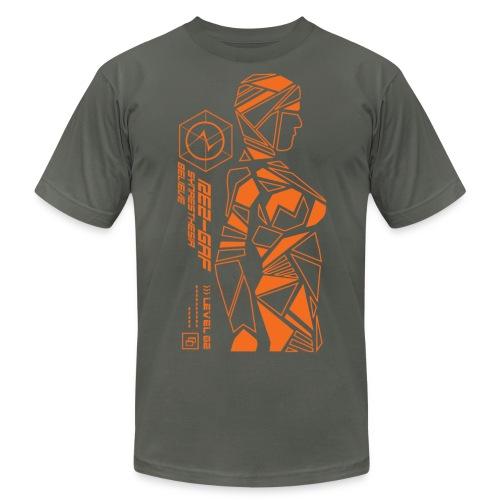 dreweyes 30 AA (dark) - Men's Fine Jersey T-Shirt