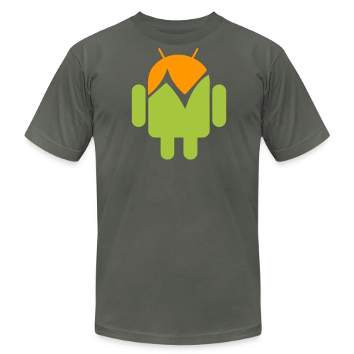 dreweyes 32 AA (dark) - Men's Fine Jersey T-Shirt