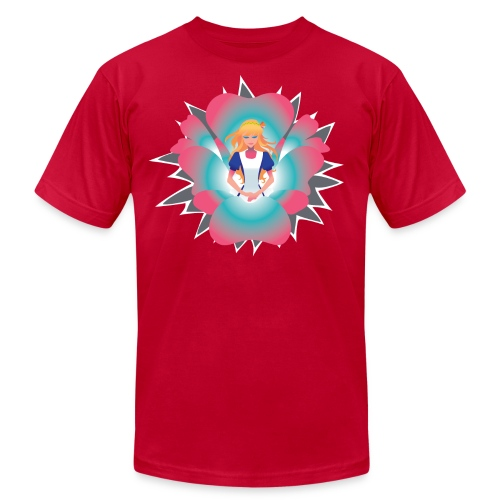 elliskim 07alt AA - Men's Fine Jersey T-Shirt