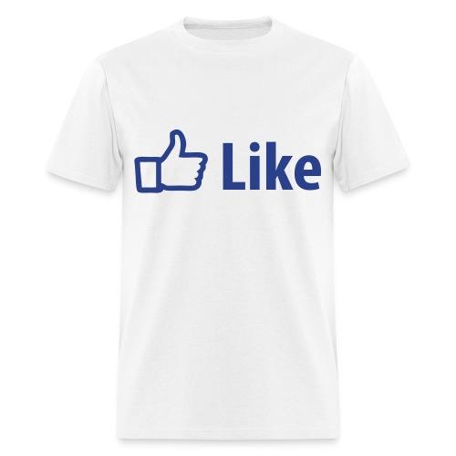 I Like Facebook - Men's T-Shirt