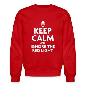 Keep Calm Red Sweatshirt - Crewneck Sweatshirt