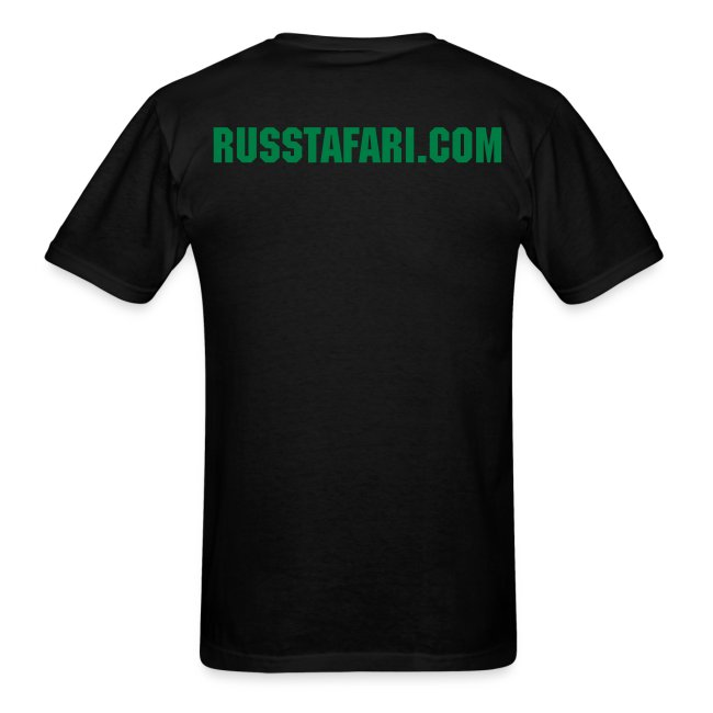 Pot Leaf - Russ Tafari Heavyweight T-Shirt