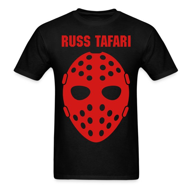 Jason Mask - Russ Tafari Heavyweight T-Shirt