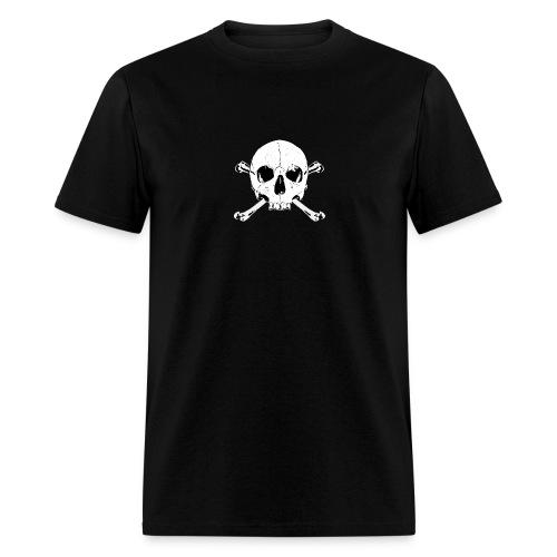 skull x bones - skull and bones - Men's T-Shirt