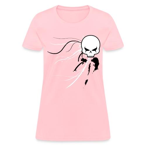 Cyber Skull Graffiti (Womens) - Women's T-Shirt