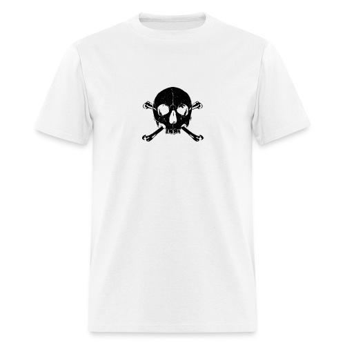 black skull x bones - skull and bones - Men's T-Shirt