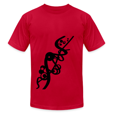 Abstract lines and forms bubbles, spacey electronica T-Shirts