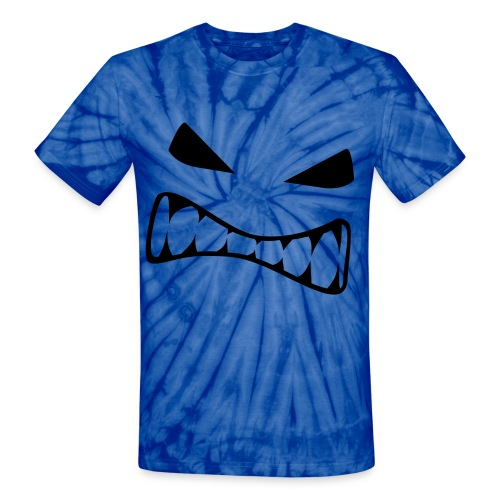 Angry Face - Unisex Tie Dye T-Shirt