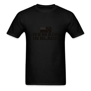 REMAIN IN BLACK - Men's T-Shirt