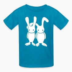 bunny buddies kid's t-shirt