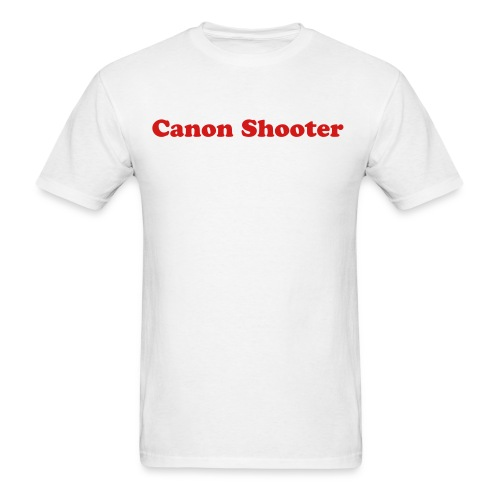 Men's Canon Shooter - Men's T-Shirt