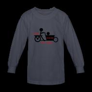Kids' Shirts ~ Kids' Long Sleeve T-Shirt ~ Think Inside the Baks