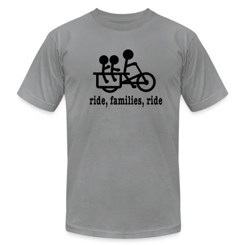 Men's Longtail Ride Families - Men's Fine Jersey T-Shirt